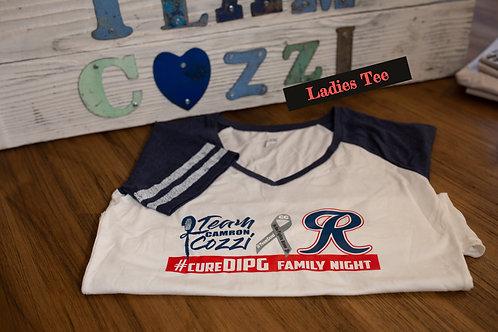 T-Shirt Rainier #CureDIPG Family Night