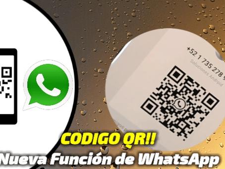 Como agregar un contacto a WhatsApp con codigo QR