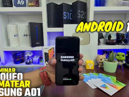 Formatear Samsung Galaxy A01