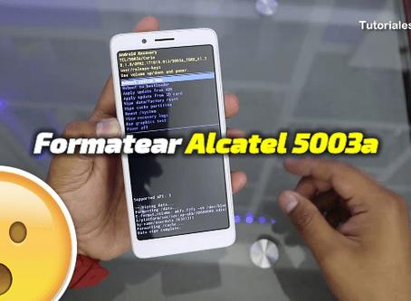 Formatear Alcatel 5003a