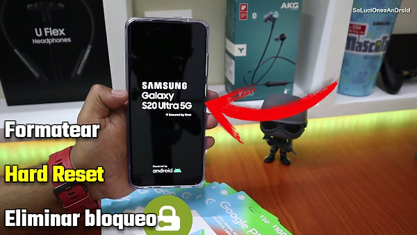 Formatear Samsung Galaxy S20 ULTRA