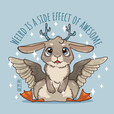 Wolpertinger: Weird is a side effect of awesome