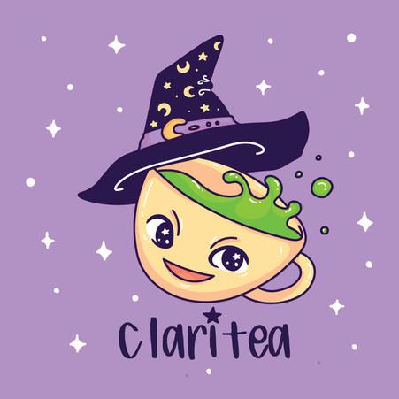 Claritea Logo Design