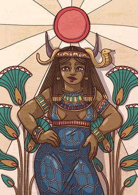 Hathor illustration