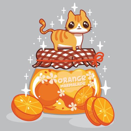Orange Cat Jam