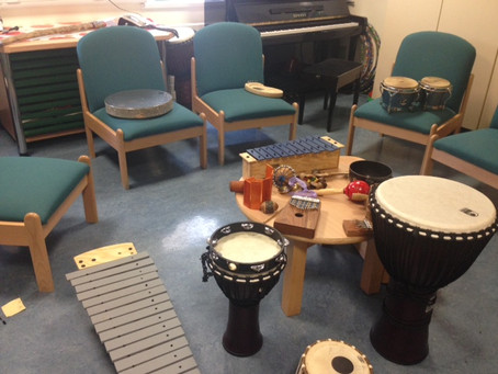 Blog #4 Music therapy in psychiatric hospital