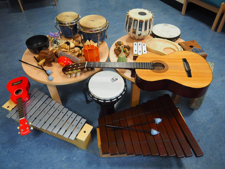 Blog #6 Musical Instruments in Music Therapy