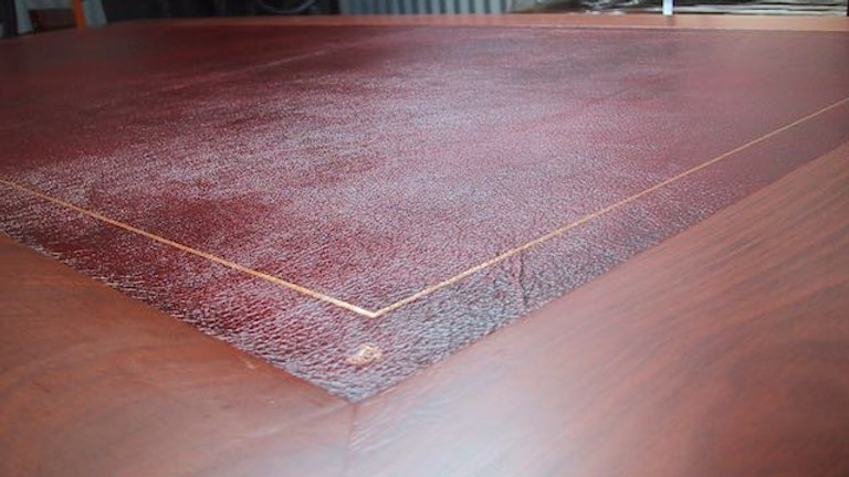 Leather Desktops incl Gold Tooling from