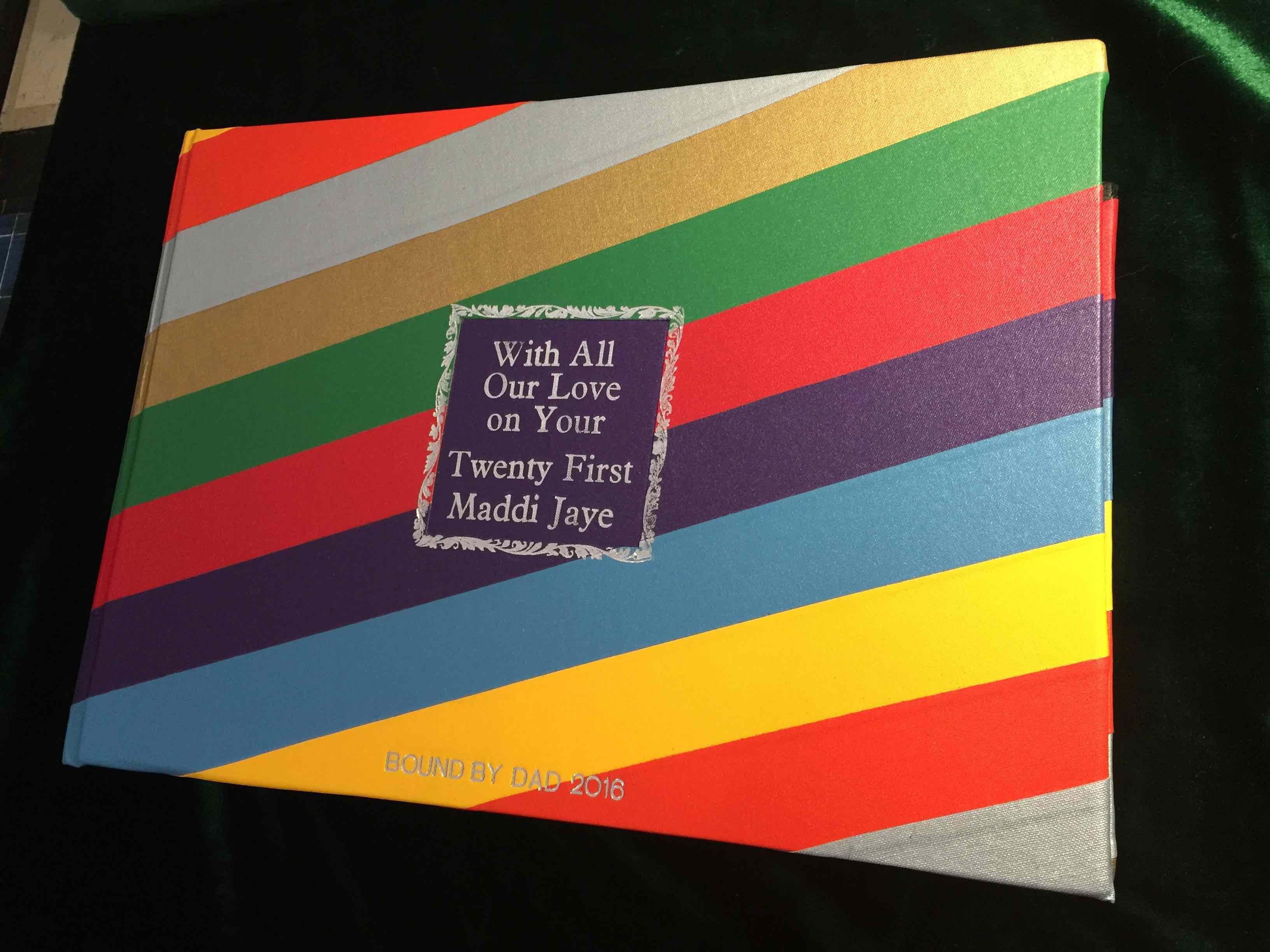 Custom Bindings Card & Special Wishes Al
