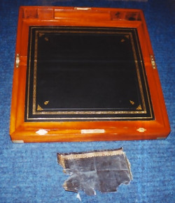 Antique Writing Slope Restoration