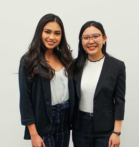Co-founders Nicole Sanchez and Anka Chan
