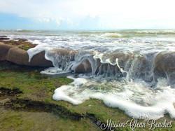 honeycomb worm reef waterfall