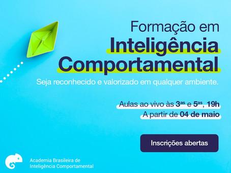Turmas abertas para o curso online de Formação em Inteligência Comportamental