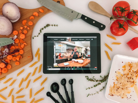 Live Virtual Events: Culinary & Tasting Experiences