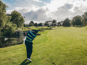 Golfing at Druids Glen, Ireland