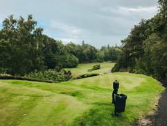 Golfing at Druids Glen, Ireland