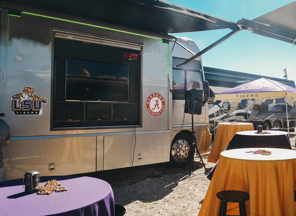 RV Tailgate for University of Alabama vs. Louisiana State University