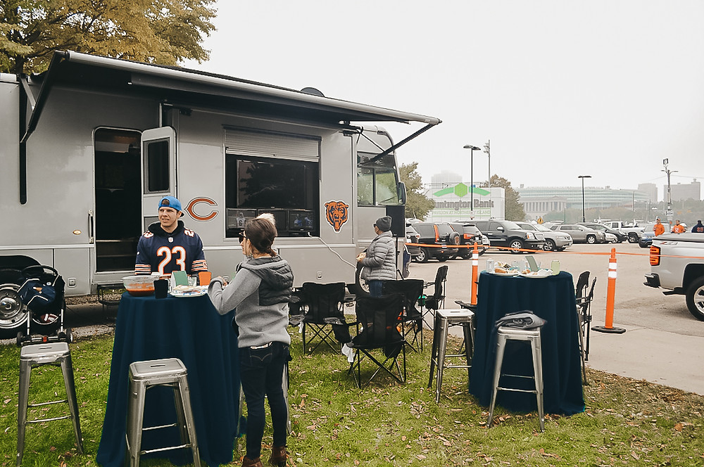 RV Tailgate for New Orleans Saints vs. Chicago Bears at Soldier Field