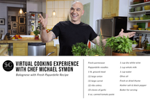 Virtual Culinary Experience with Chef Michael Symon Recipe Card