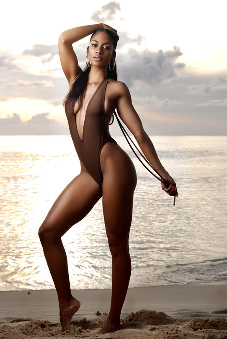 Model: Shanice Mason Design by Sugaapple Swim