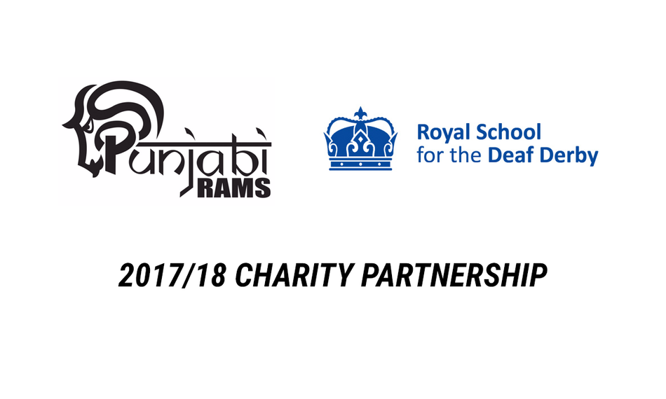 2017/18 Charity Partnership with the Royal School for the Deaf Derby