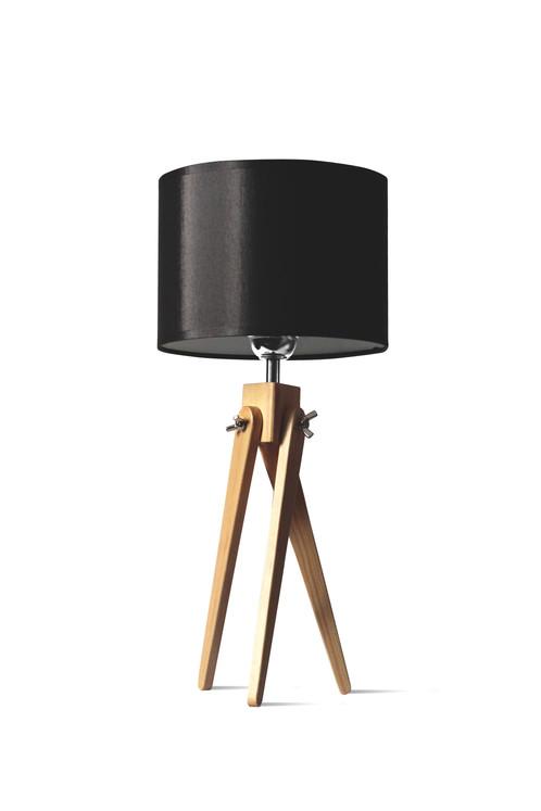 stehlampe holz dreibein stehlampe cm holz dreibein ohne schirm stehleuchte bodenlampe fassung e. Black Bedroom Furniture Sets. Home Design Ideas