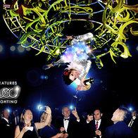 LED Champagne Chandelier
