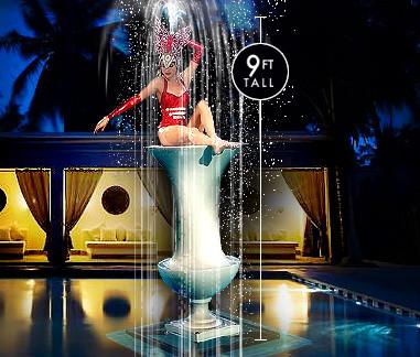 Living Pool Fountain