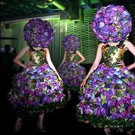 Surreal Floral Dress