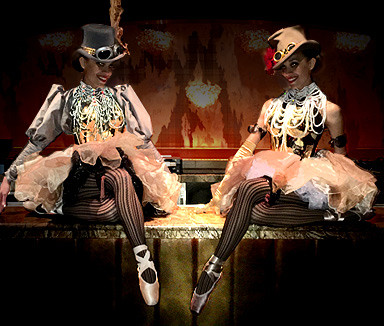 Chrome Ballerinas