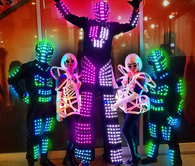 LED Stilt Walkers