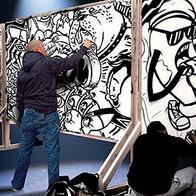 Live Graffiti Artist
