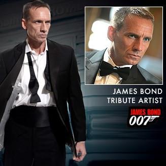 James Bond Impersonator