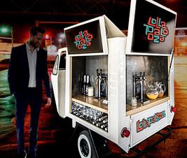 Mobile Bar Car