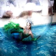 Floating Pool Bubble