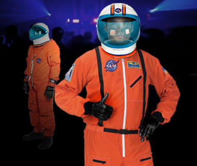 Astronaut Greeters