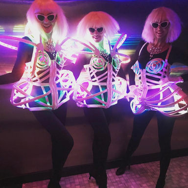 LED Electric Dress