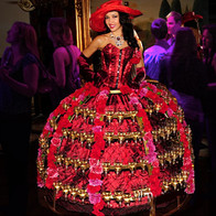 Champagne Diva Dress