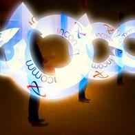 LED Hologram Spinners