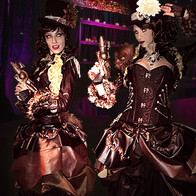 Steampunk Greeters