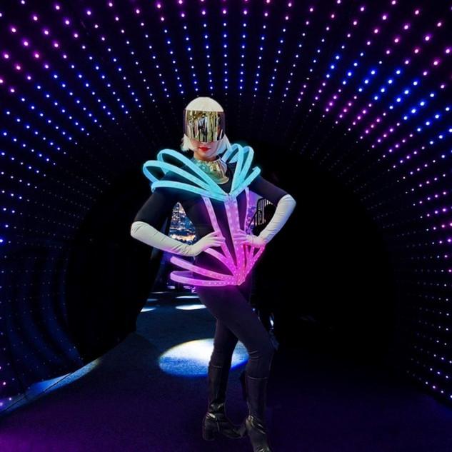 LED Greeter
