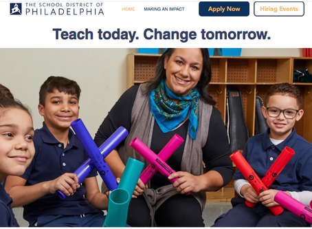 Empowering perspective teachers to make a difference in Philadelphia