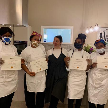 Congratulazioni a Mercy, Precious, Debora e Charity, le nuove cuoche di Modena