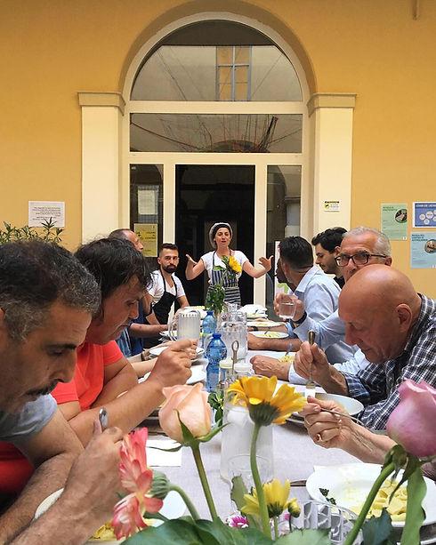 Caritas Modenese Pranzi di Fraternita