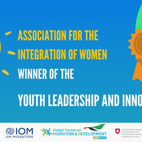 AIW Founder wins 2021 Youth Leadership and Innovation Award
