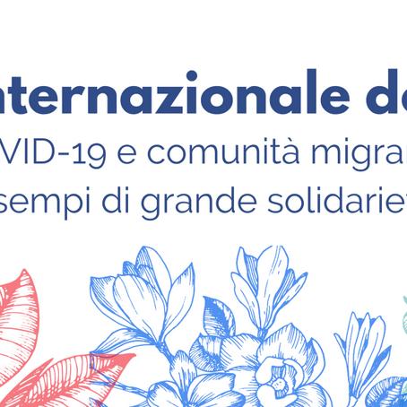 COVID-19 e comunità migranti: esempi di grande solidarietà