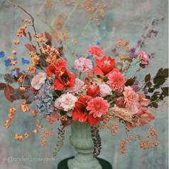 Flower Arrangement with Flower Frog (7).