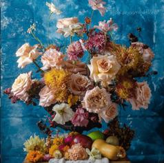 Flower Arrangement with Flower Frog (2).