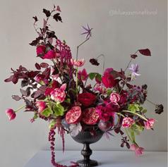 Flower Arrangement with Flower Frog (10)