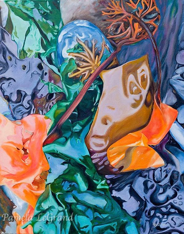 Mr. Kelp By Malibu Artist Pamela LeGrand